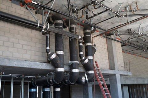 Commercial Plumbing Pipe
