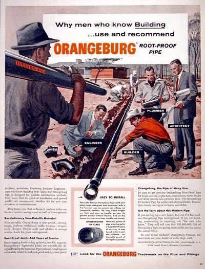 orangeburg pipe ad