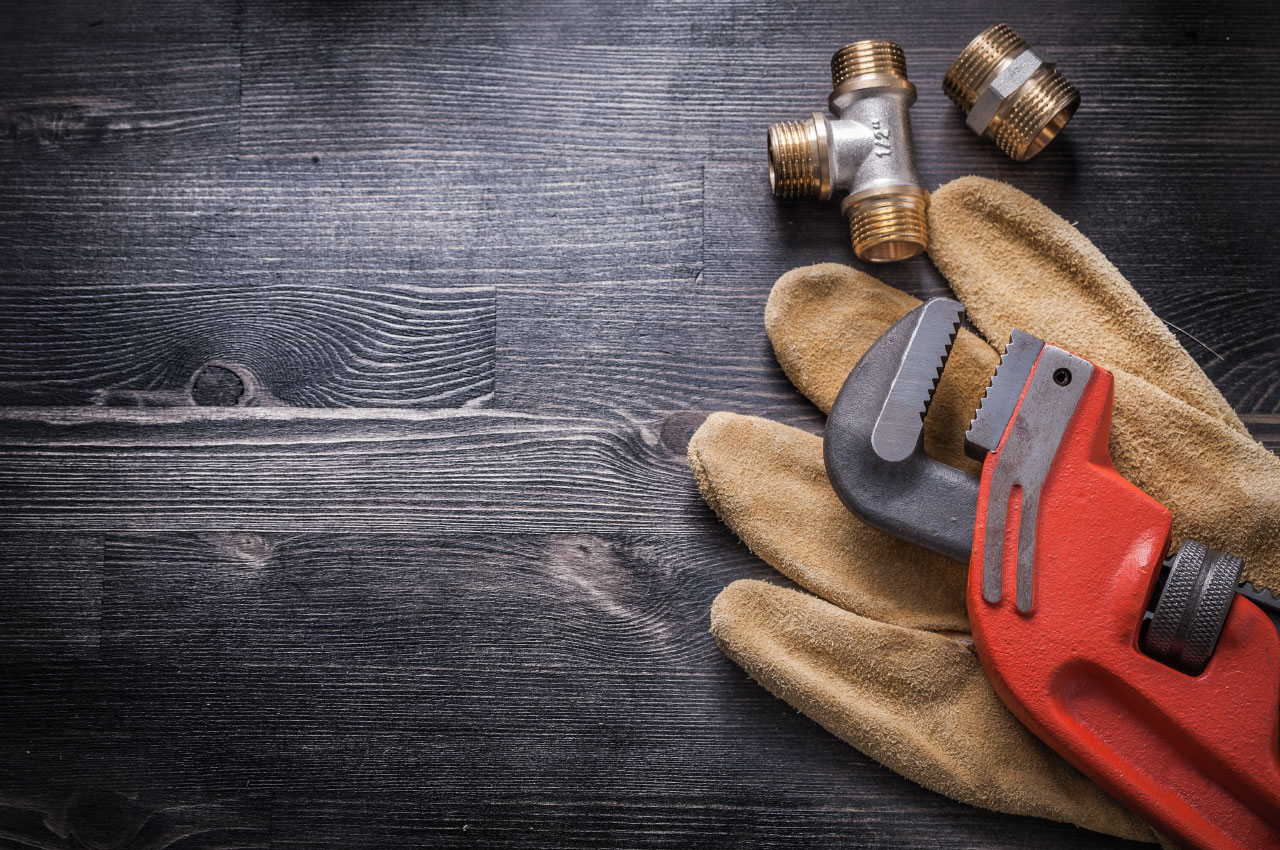 Gloves Wrench Wood