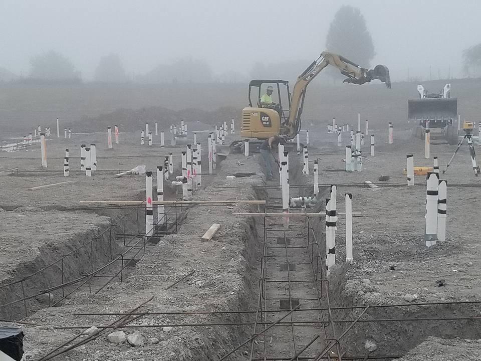 Ground Plumbing Work