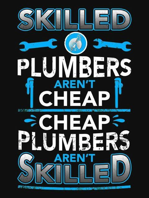 Skilled plumbers
