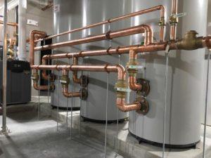 Nice Water Heater Job